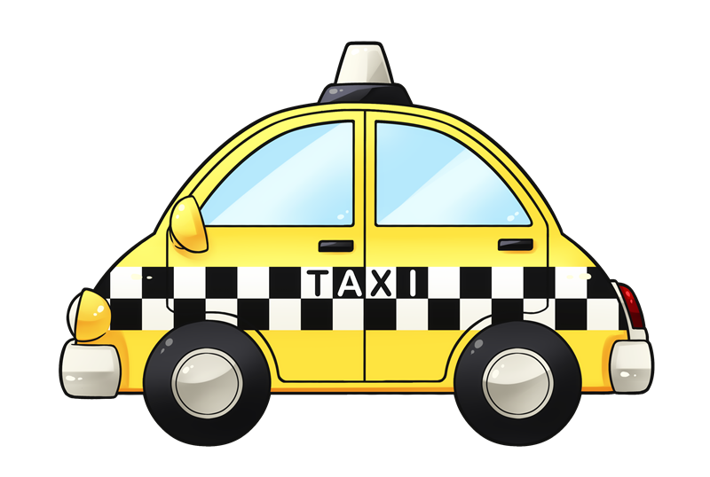 Driving clipart taxi man.  collection of free