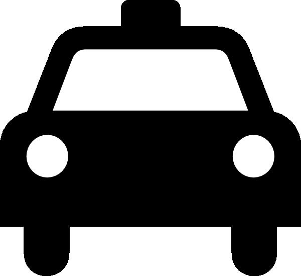 A clip art at. Driving clipart taxi man