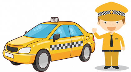 Download png x for. Driver clipart taxi man