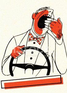 Man driving premium clipartlogo. Driver clipart tired driver