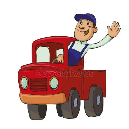 Truck free download best. Driver clipart trucker
