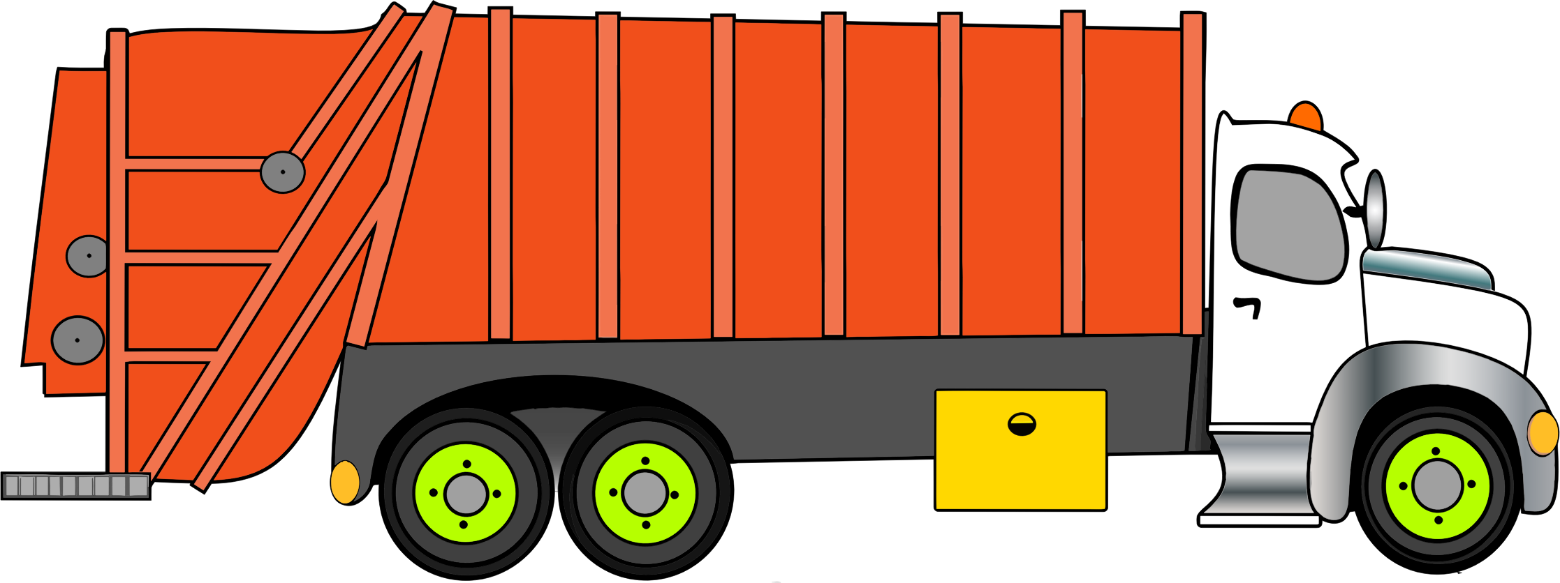 collection of truck. Garbage clipart clip art