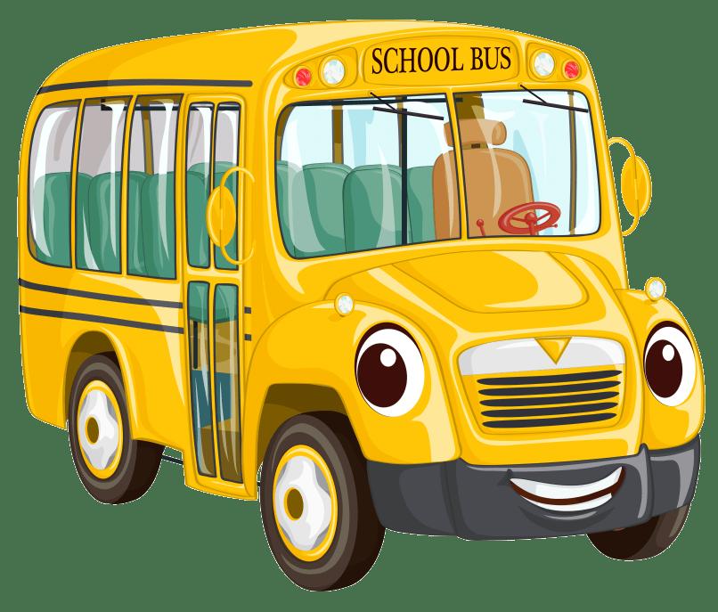 Cartoon cartoonwjd com png. Driver clipart yellow school bus