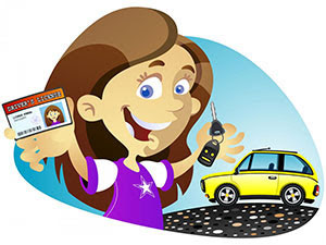 Drivers license clipart. State approved texas education