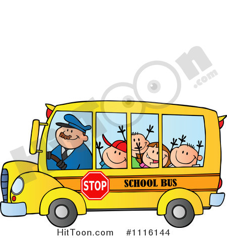 Driver for children collection. Drivers license clipart