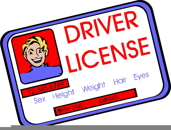 Drivers license clipart. Licence free images at