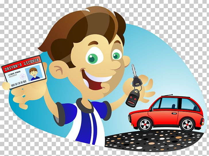 Drivers license clipart cartoon character. Car driving driver s