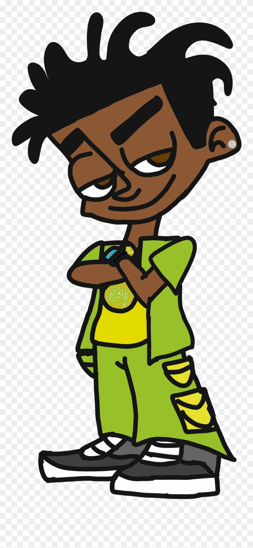 Johnny test characters pinclipart. Drivers license clipart cartoon character