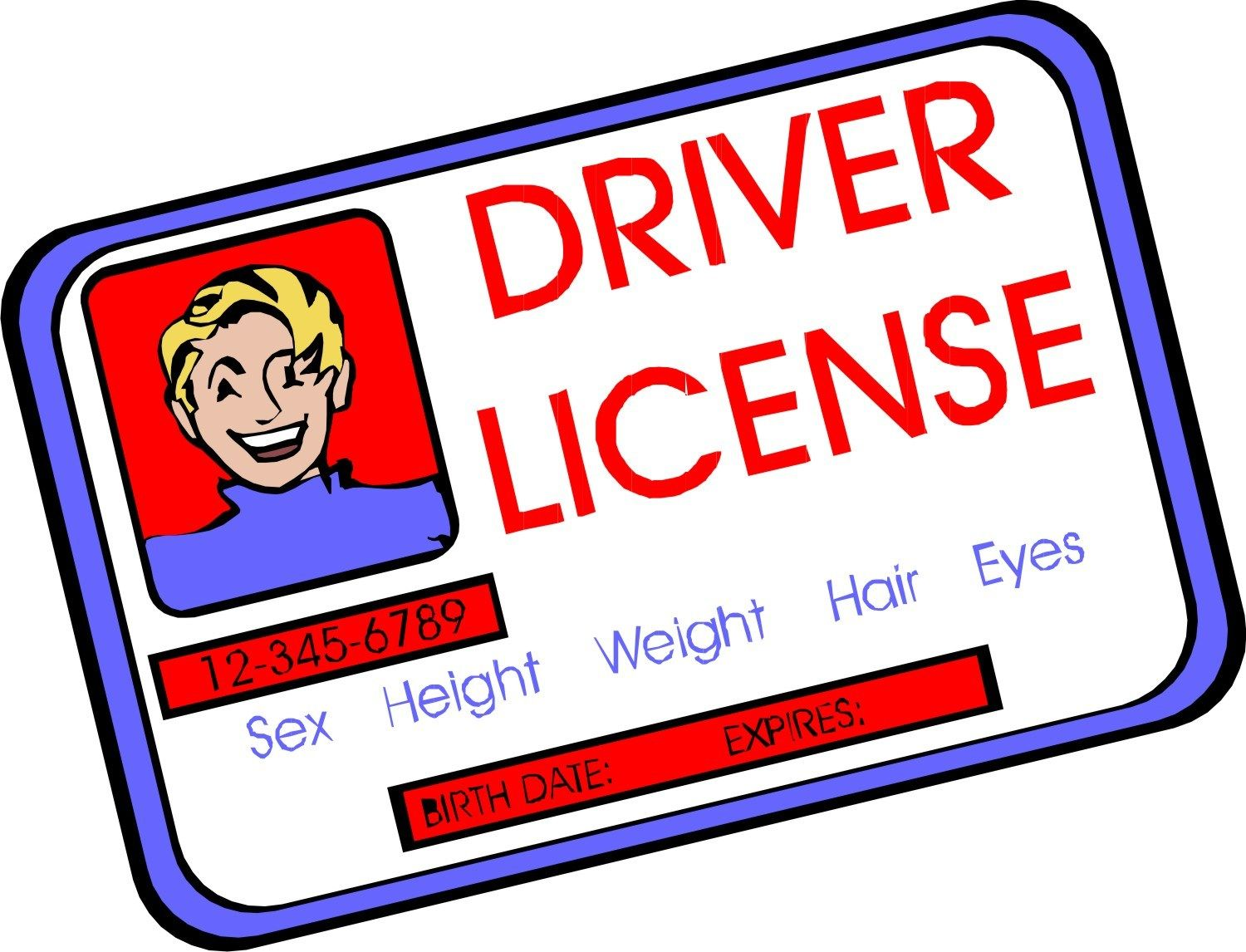 Drivers license clipart driver's license. Pin by sujoy dhar