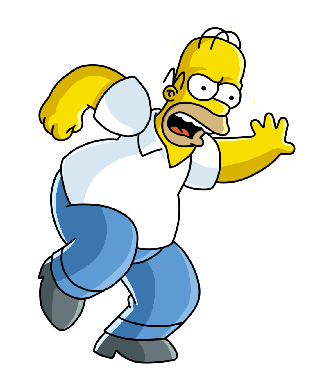Drivers license clipart homer simpson. Png