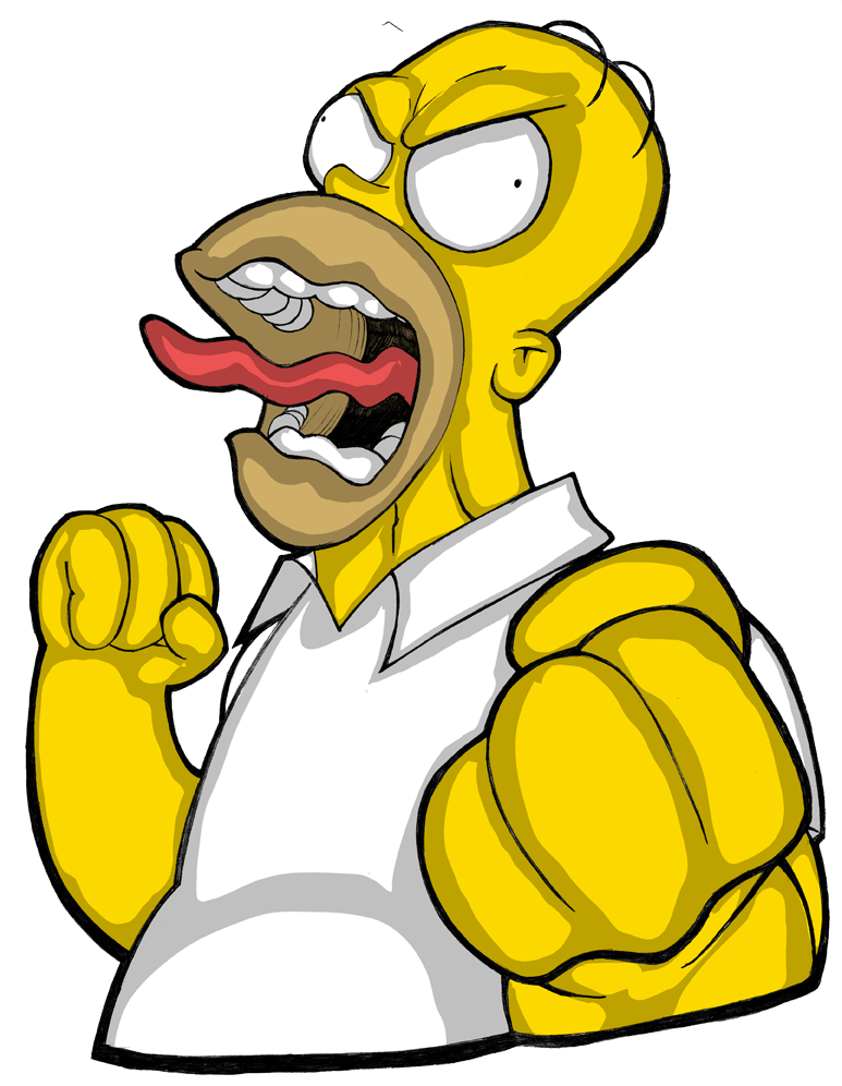 Drivers license clipart homer simpson. By shadowvaporz on deviantart