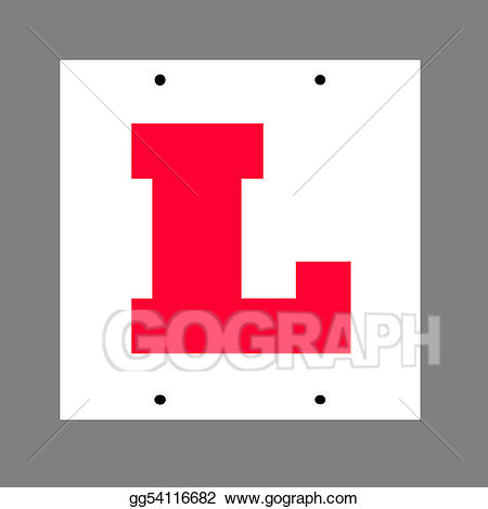 Stock illustration learner driver. Drivers license clipart learners