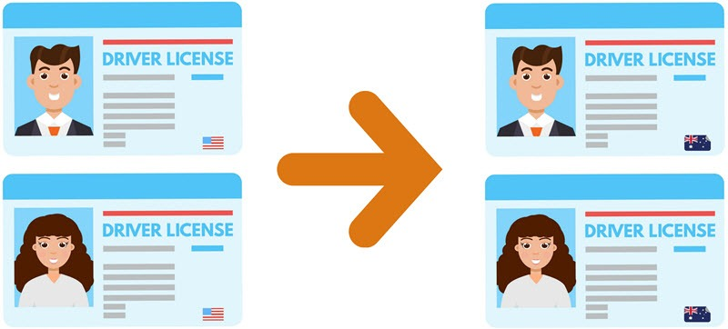 Licence conversion western australia. Drivers license clipart licensing