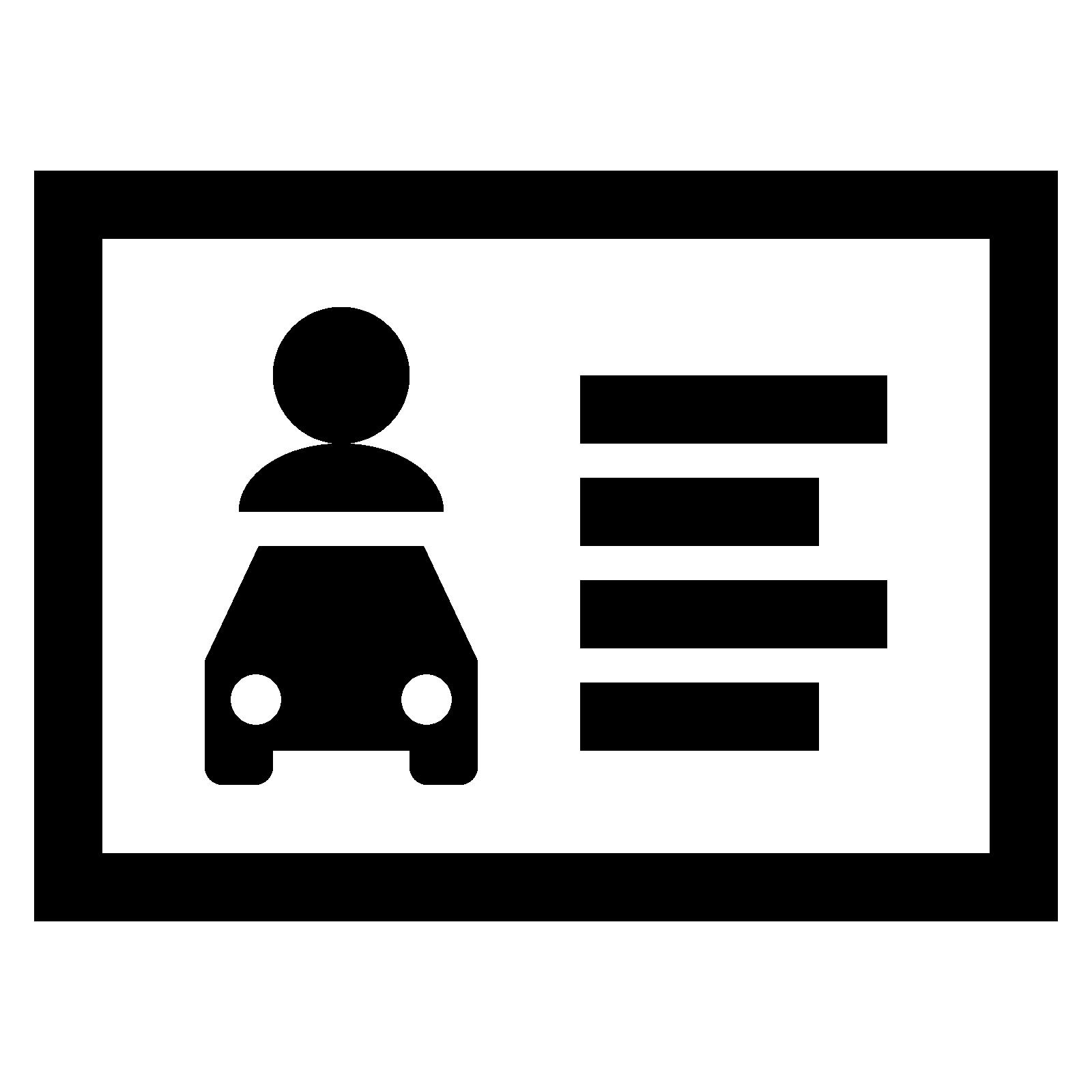 Haus bellevue . Drivers license clipart valid driver