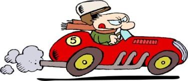 Driving clipart bad driver. Free cartoon download clip
