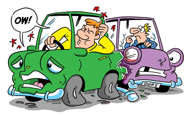 Driving clipart bad driver.  habits that damage