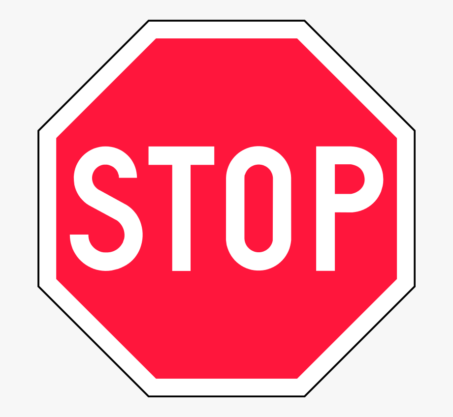 Driving clipart bus stop sign. Finland road red free