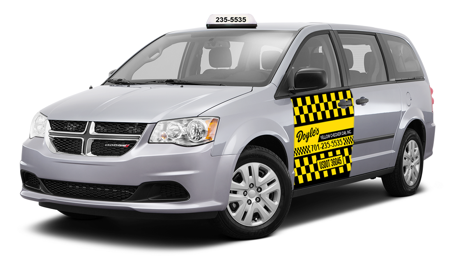 Driving clipart cab driver. Doyle s yellow checker