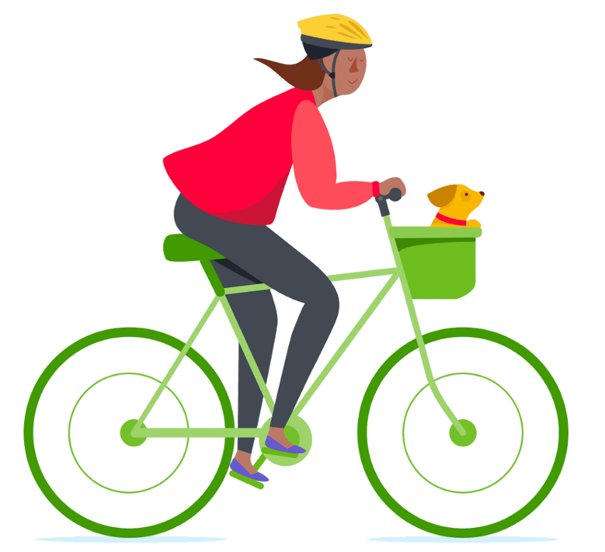 Driving clipart commuter. Rideamigos management ridesharing solutions