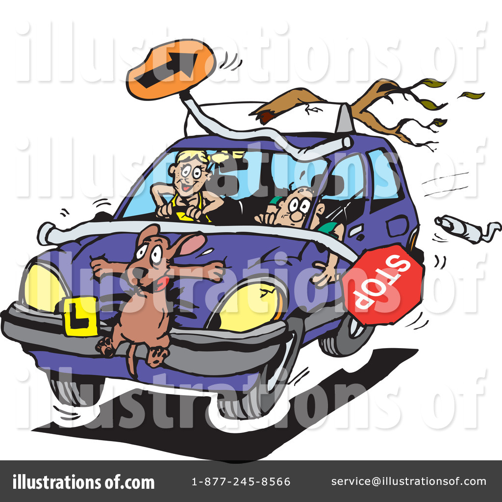 Illustration by dennis holmes. Driving clipart driver service