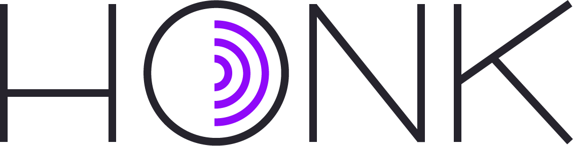 Press information logo. Driving clipart honk