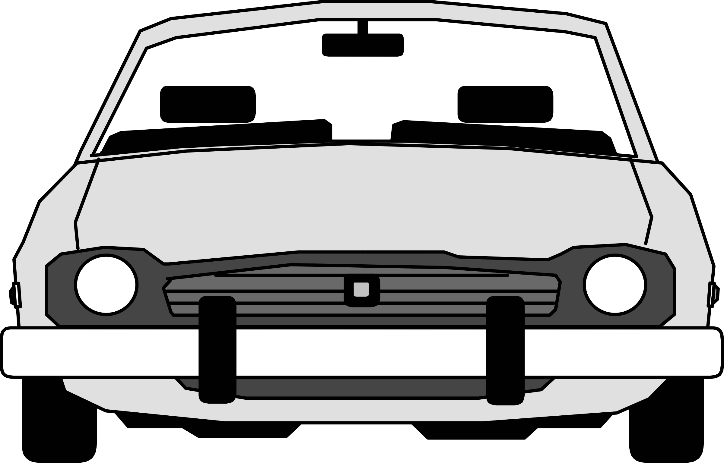 collection of front. Driving clipart infront