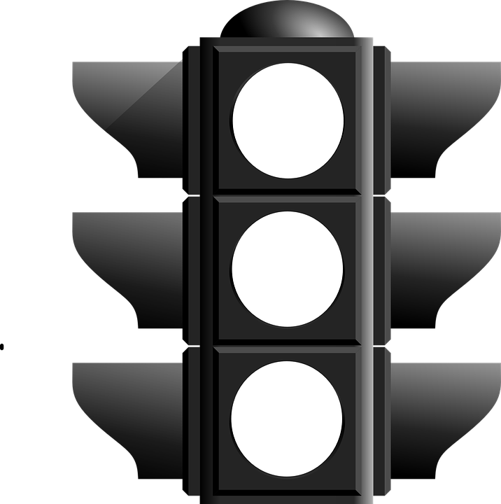 Driving clipart outline. Traffic light road simple