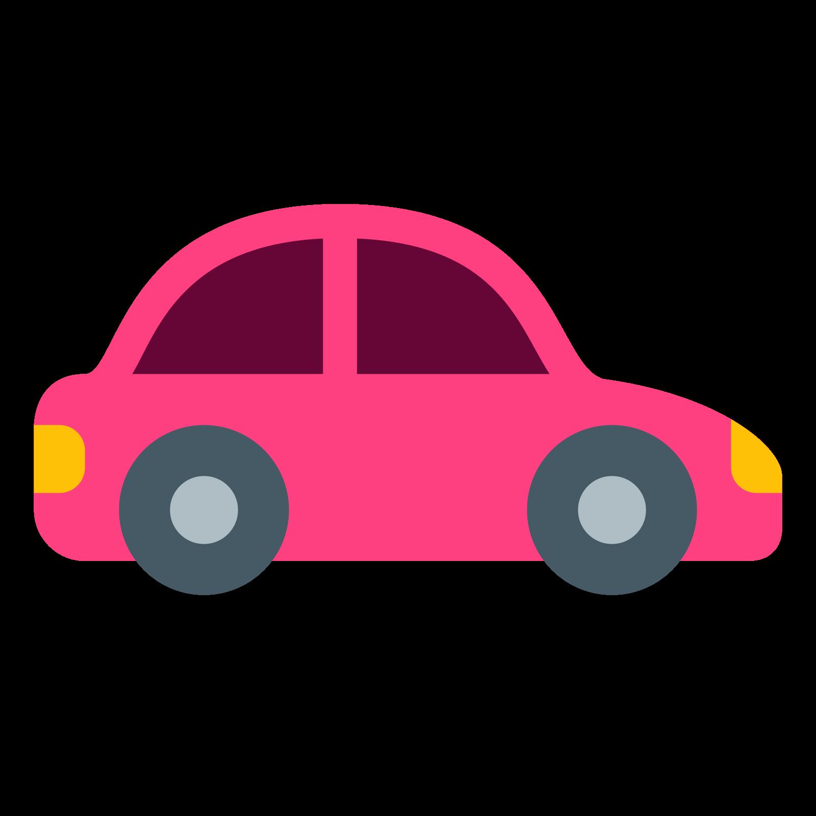 Computer icons emoji traffic. Driving clipart pink car
