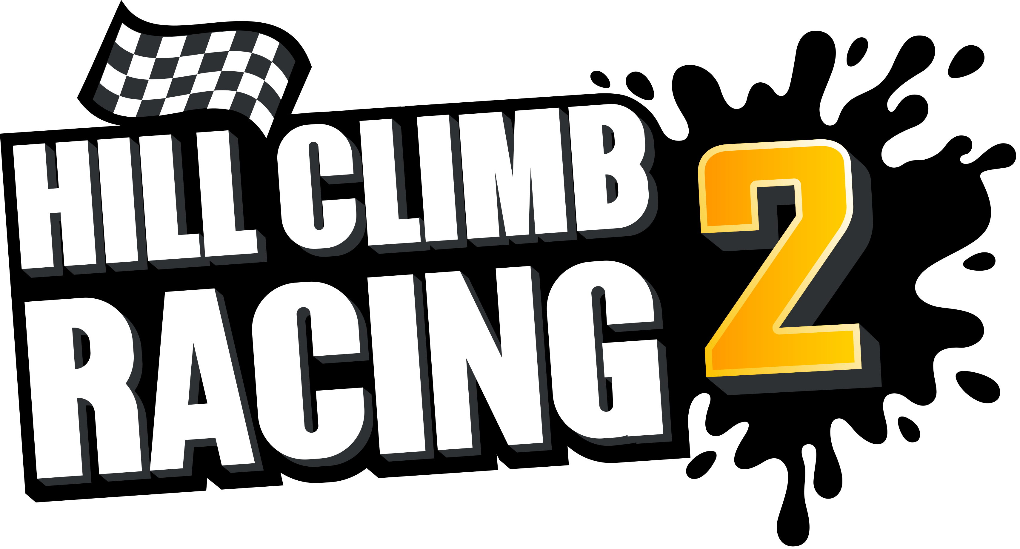 Race clipart won race. Hill climb racing fingersoft