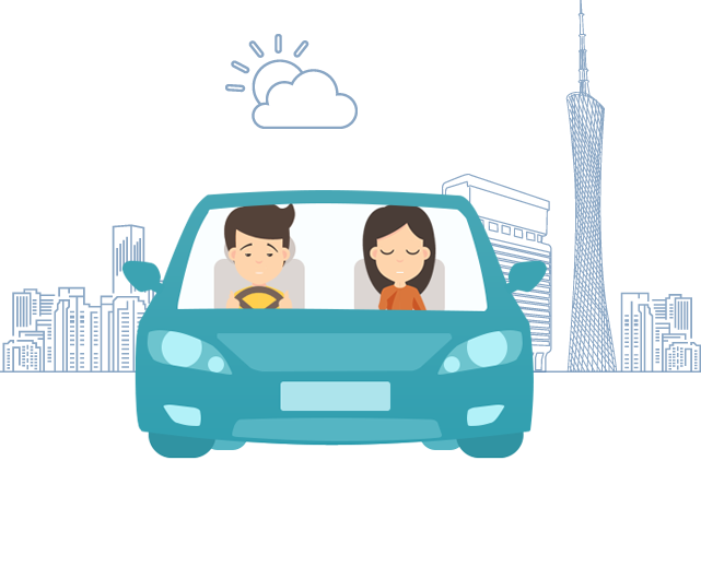 Driving clipart sleepy driver. Cpap guangzhou hypnus healthcare