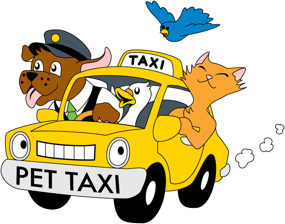Pet transport philadelphia bucks. Driving clipart taxi driver