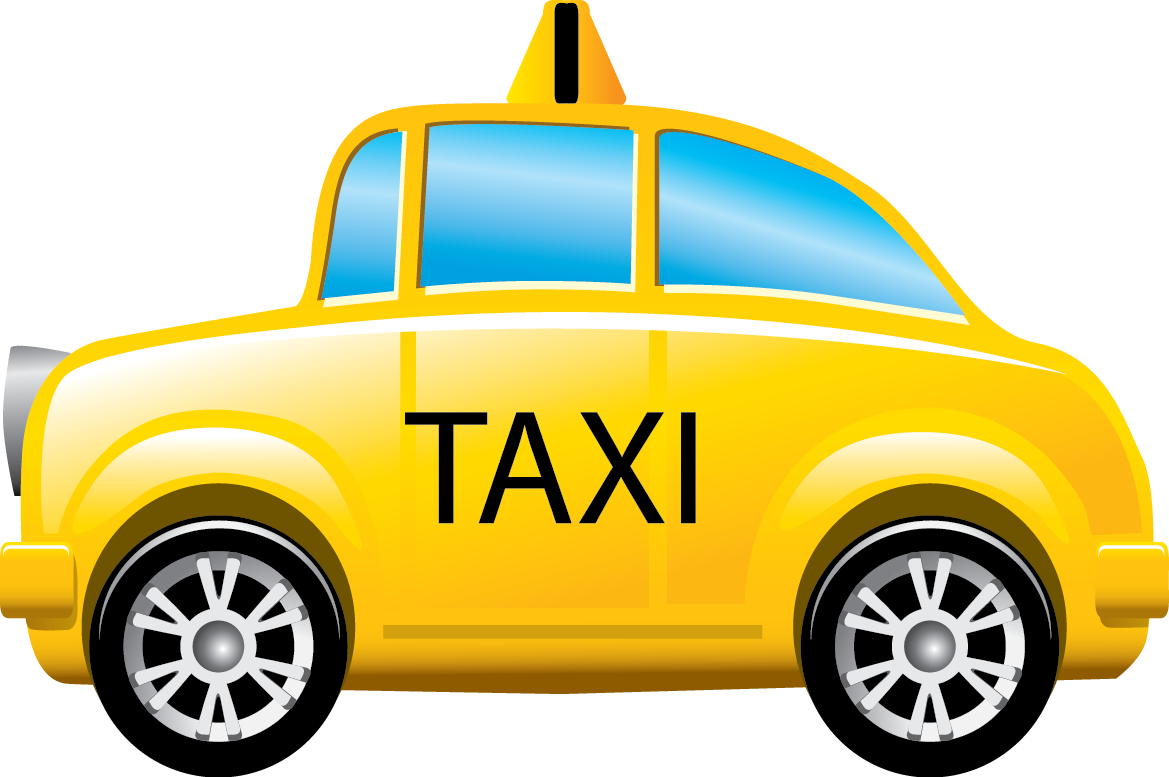 American woman learns trade. Driving clipart taxi driver
