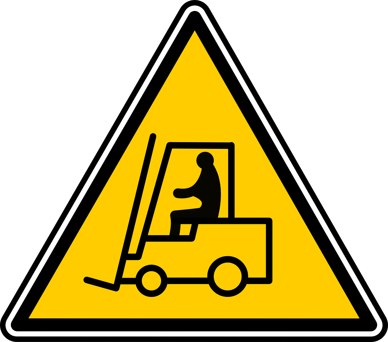 Forklift safety products to. Driving clipart train operator