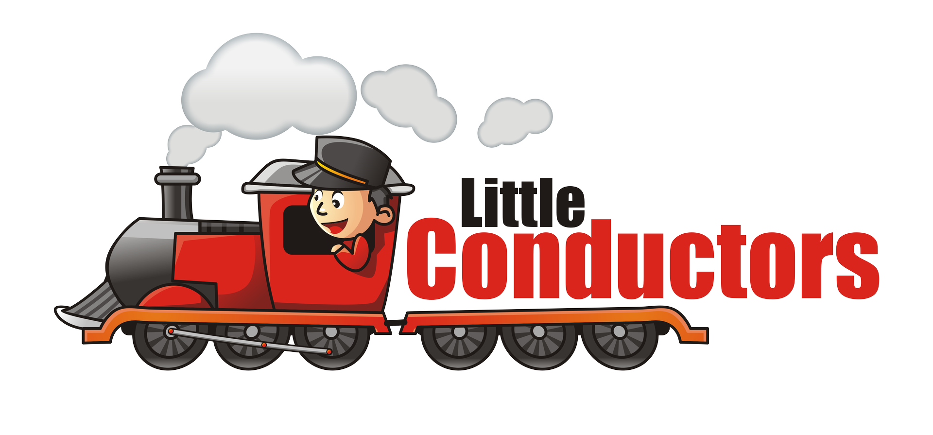 Driving clipart train operator. Little conductors trackless rental