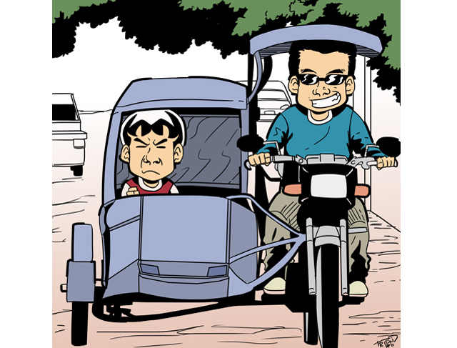 Antipolo news lifestyle . Driving clipart tricycle driver