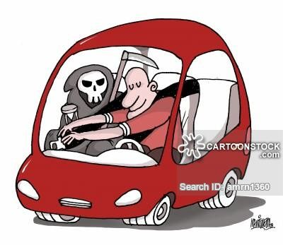 Cartoons and comics funny. Driving clipart vehicle safety