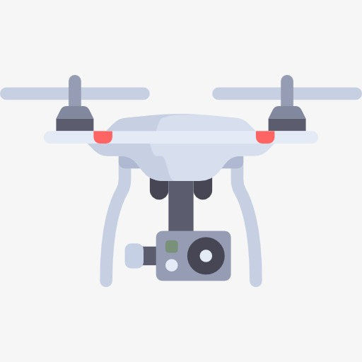 Uav cartoon aircraft png. Drone clipart