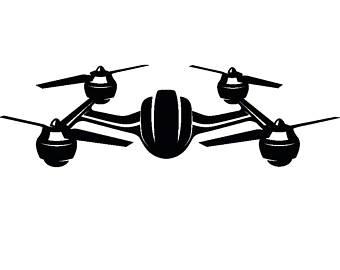 Drone clipart. Vector etsy remote control