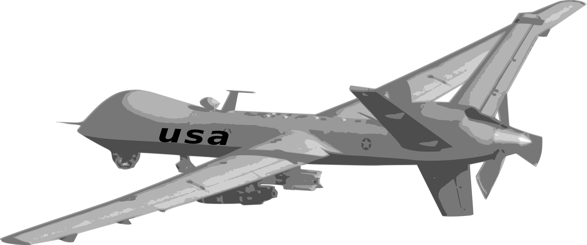 Jet clipart airforce. Predator drone big image