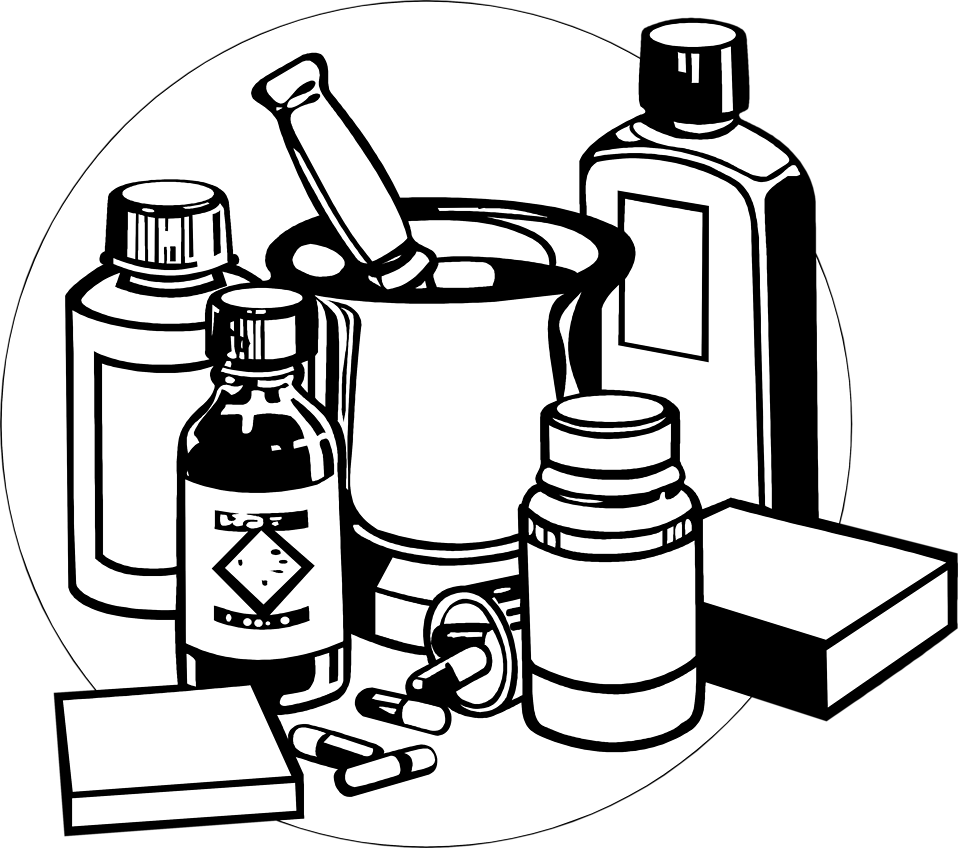 Medication clipart medicine container.  collection of medical