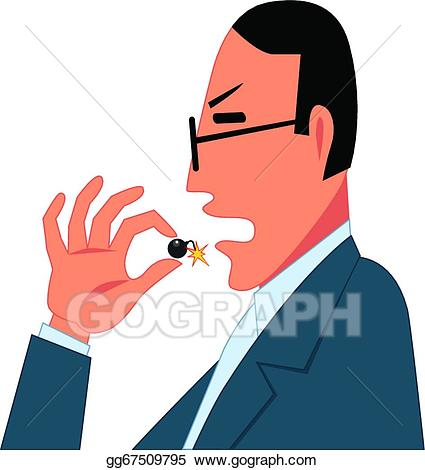 Vector stock dangerous . Drugs clipart illustration