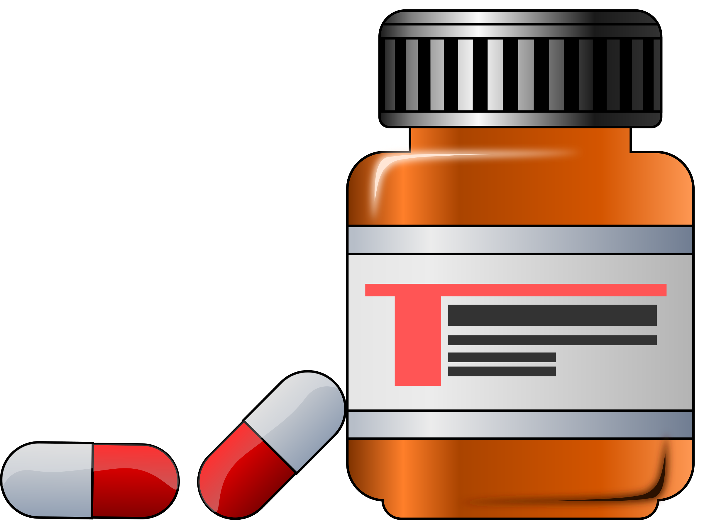 pill clipart over counter drug