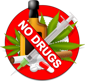 Anti clip art at. Drugs clipart sign