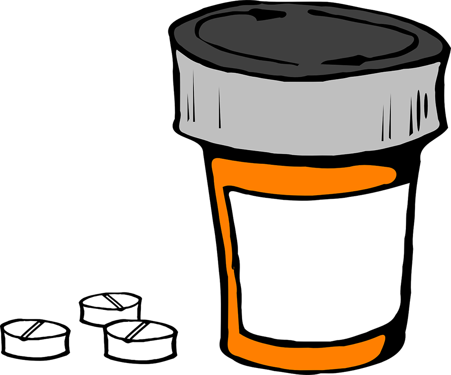 Adderall ritalin concerta vyvanse. Pill clipart drug profile