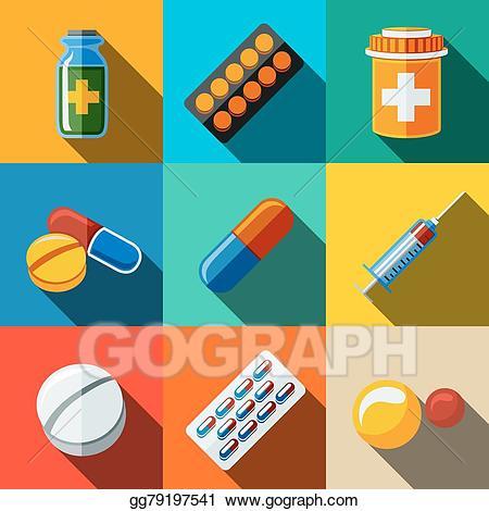 Clip art vector medicine. Medical clipart pill
