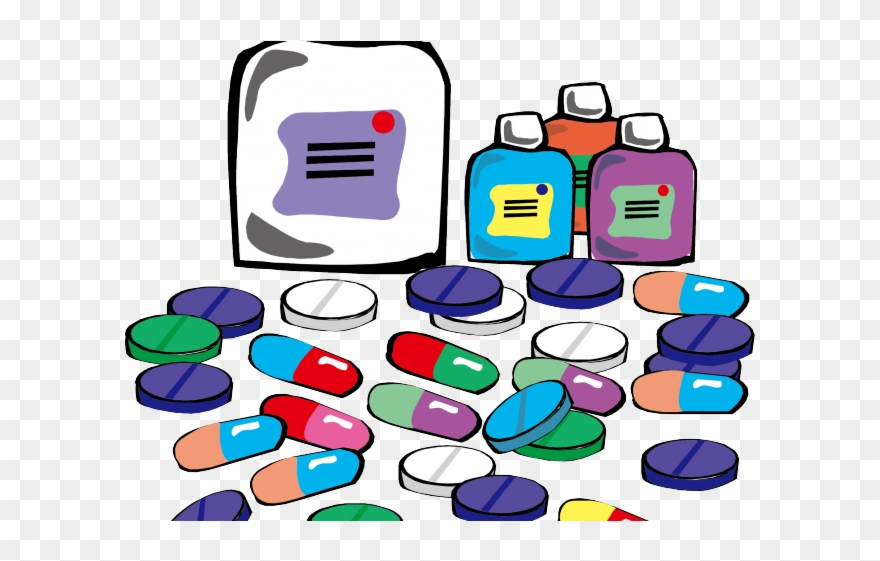 Medicine medical prescription . Pill clipart drug profile