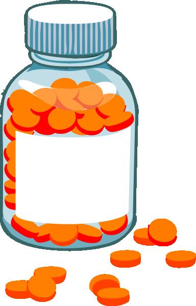 Drug clipart medicine container. Free cartoon bottle download