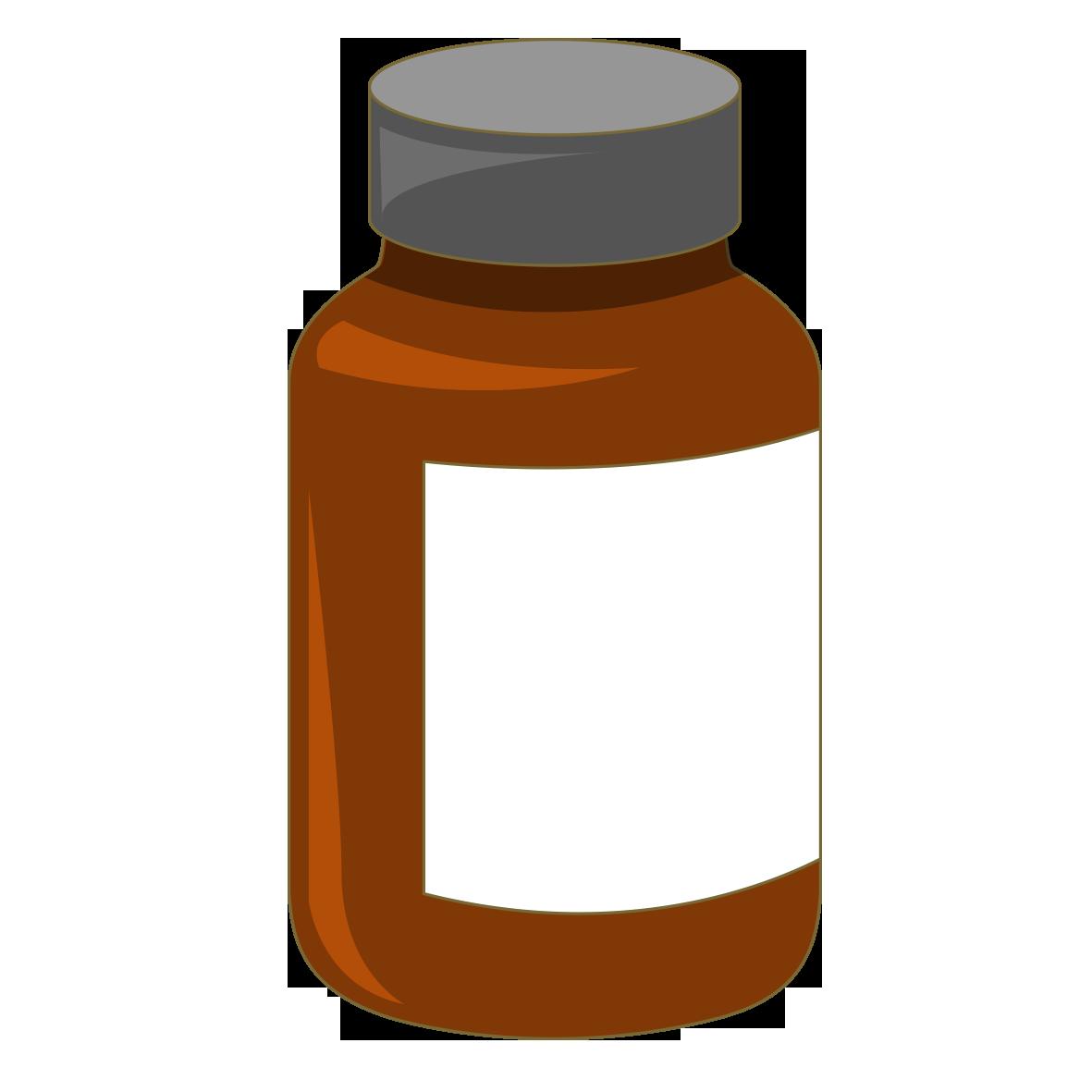Drug clipart medicine container. Bottle bottles transprent png