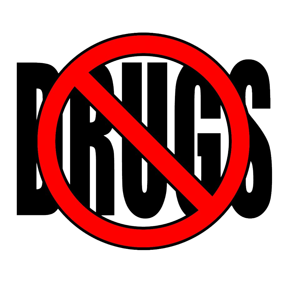 Drugs clipart prohibited drug. Say no to png