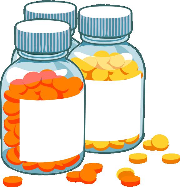 Blank pill bottles clip. Pills clipart medicine tablet